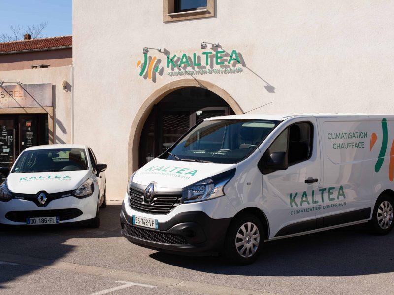 Kaltea franchise climatisation enseigne agence le luc