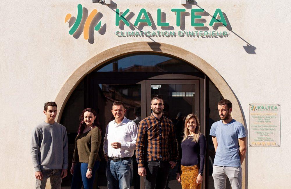 Kaltea franchise climatisation equipe agence le luc web